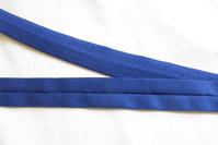 Jersey kantebånd koboltblå 2cm bred
