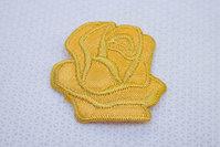 Karry gul rose strygemærke ø 3,5 cm
