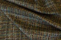 Let modevare i Chanel-stil i brune og oliven farver