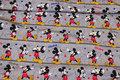 Lys gråmeleret bomuldsjersey med Mickey Mouse.