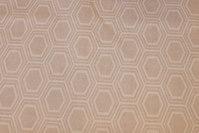 Lys sandfarvet voksdug med mønster
