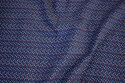 Marine Babyfløjl med confetti-prikker