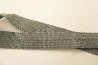 Mellemgrå foldebånd 2,5cm
