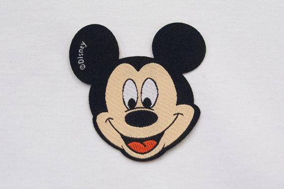 Mickey Mouse strygemærke 6x6cm
