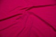 Pink stribet stretch jersey