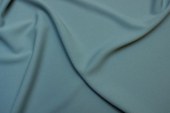Polyester kjole crepe i mintgrøn