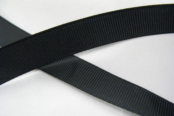 Repsbånd sort 20mm