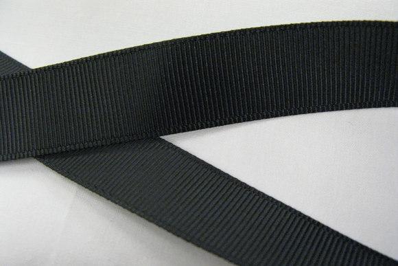 Repsbånd sort 25mm