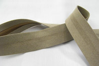Ruskindslook skråbånd sand 2,7cm