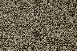 Sandfarvet bomuldsjersey med mini- dyretryk