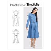 Kjoler. Simplicity 9225.