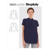 Bluser. Simplicity 9231.