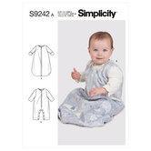 Babydragt. Simplicity 9242.