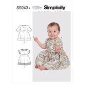 Babykjoler. Simplicity 9243.
