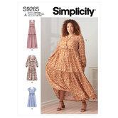 Sektionskjoler. Simplicity 9265.