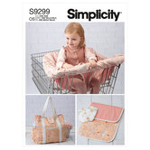 Baby tilbehør. Simplicity 9299.