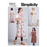 Forklæde. Simplicity 9312.