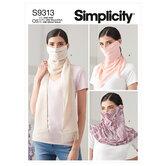 Mode mundbind. Simplicity 9313.