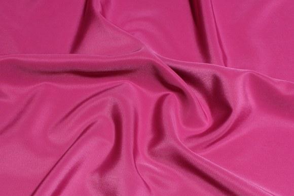 Lys fuchsia, blød micro-silk look