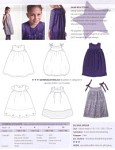 Sød og fin klassisk kjole med rene linjer og enkle detaljer.