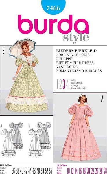 Biedermeier kjole