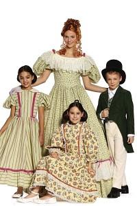 Biedermeier kjole. Burda 9529.
