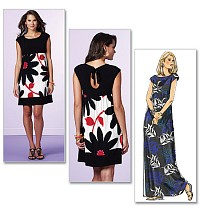 Dres - Maggy London. Butterick 5456.