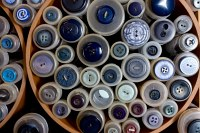 Blå knapper 1