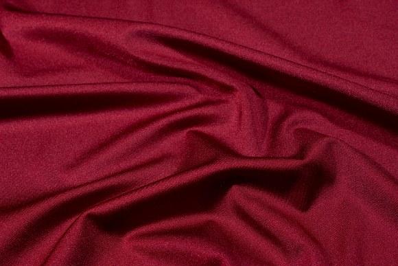 Bordeaux stretchlycra til dansetøj, toppe og leggings.