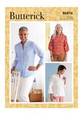 Top. Butterick 6816.