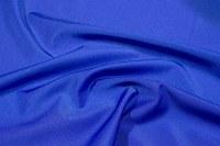Coboltblå stretchlycra til dansetøj, toppe og leggings.