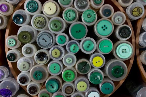 Grønne knapper 1