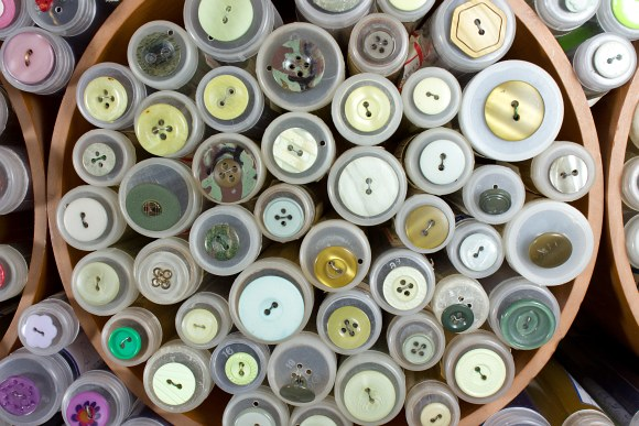 Gul-grønne knapper 1