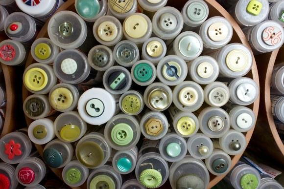 Gul-grønne knapper 2