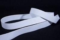 Hvid god fast elastik 2 cm bred