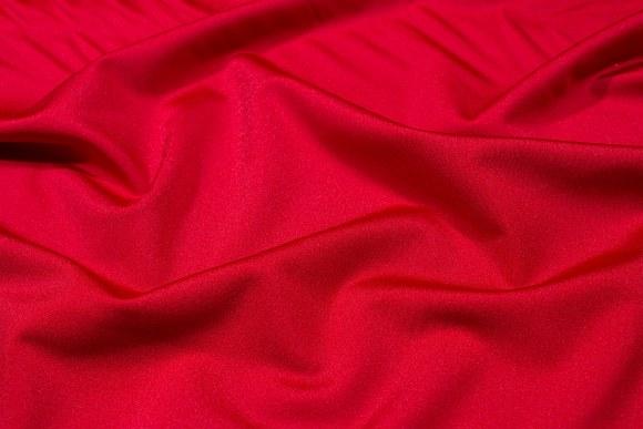 Klar rød stretchlycra til dansetøj, toppe og leggings.