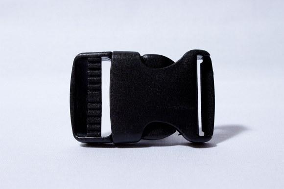 Klikspænde sort 3 cm