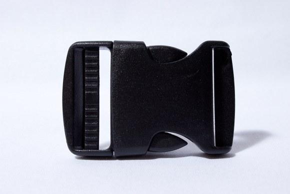 Klikspænde sort 4 cm