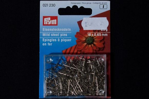 Korte knappenåle til hobbybrug, 16 mm længde