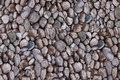 Patchwork-bomuld med små sten i grå nuancer