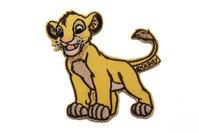 Strygemærke Simba 6,5 x 6,5 cm