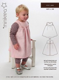 Minikrea mønster: Kjole