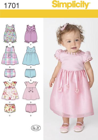 Kjoler og bukser til babyer