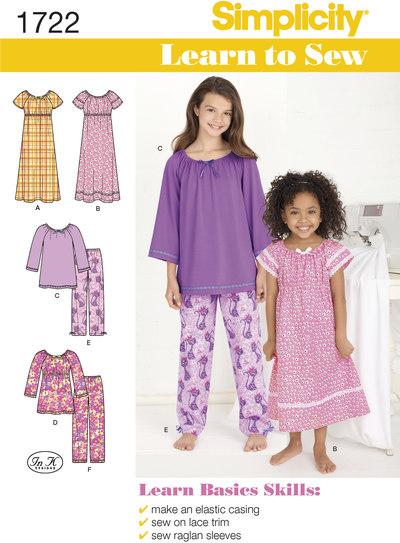 Nattøj, afslapningstøj til piger