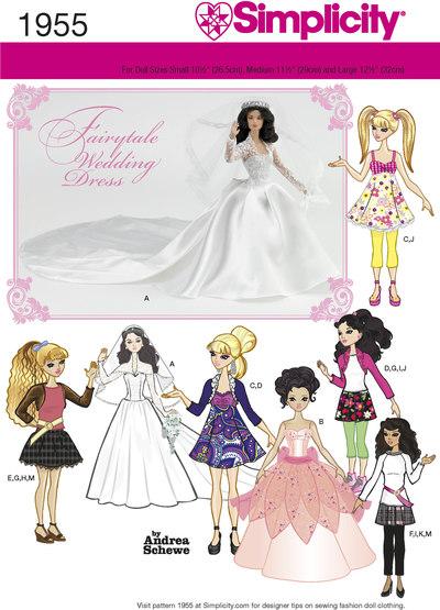 Dukketøj til brylluper, specialle begivenheder
