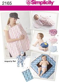 Simplicity 2165. Babytæppe,babybuks.