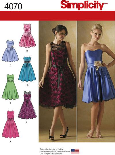 Cocktail kjoler