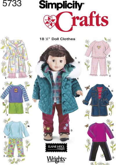 DukkeTøj, casual, 45 cm dukke