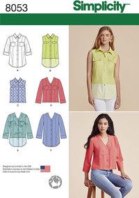 Skjorter med knaplukning i variationer