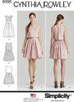 Kort og lang kjole - Cynthia Rowley
